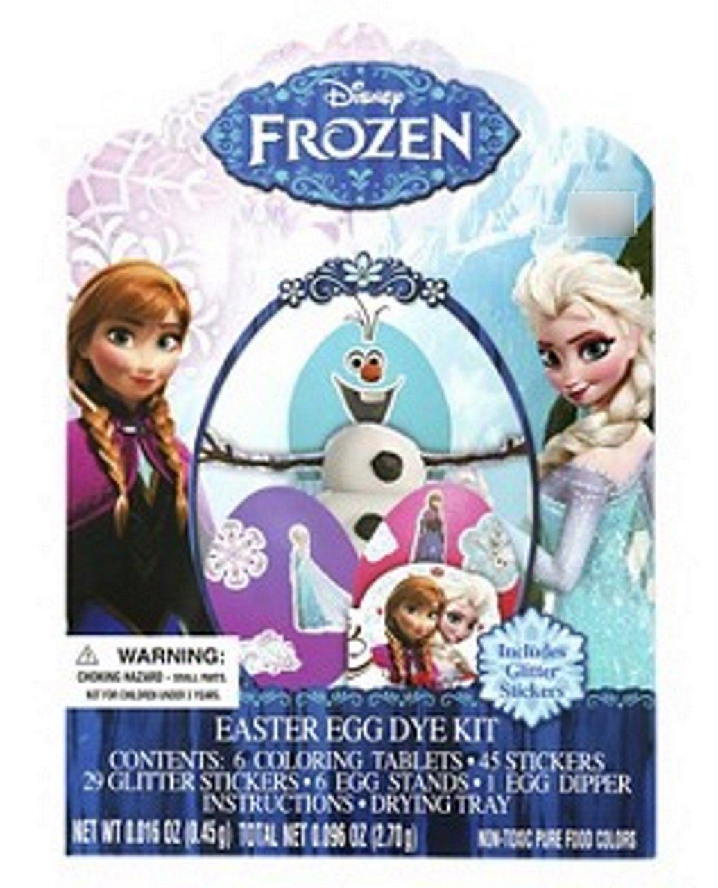 Frozen Easter Egg Decorating Deluxe Dye Kit