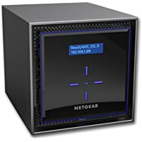 Netgear ReadyNAS 424 4-Bay Diskless Network Attached Storage
