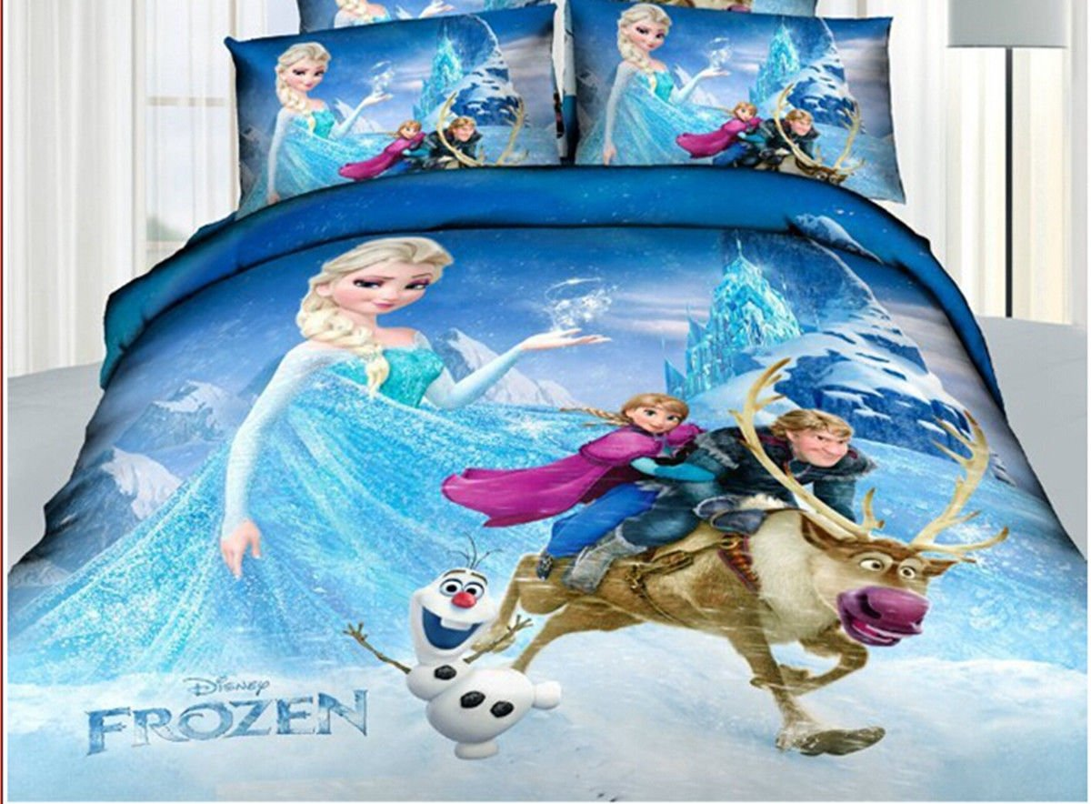 Disney Frozen Bed Sheets Queen