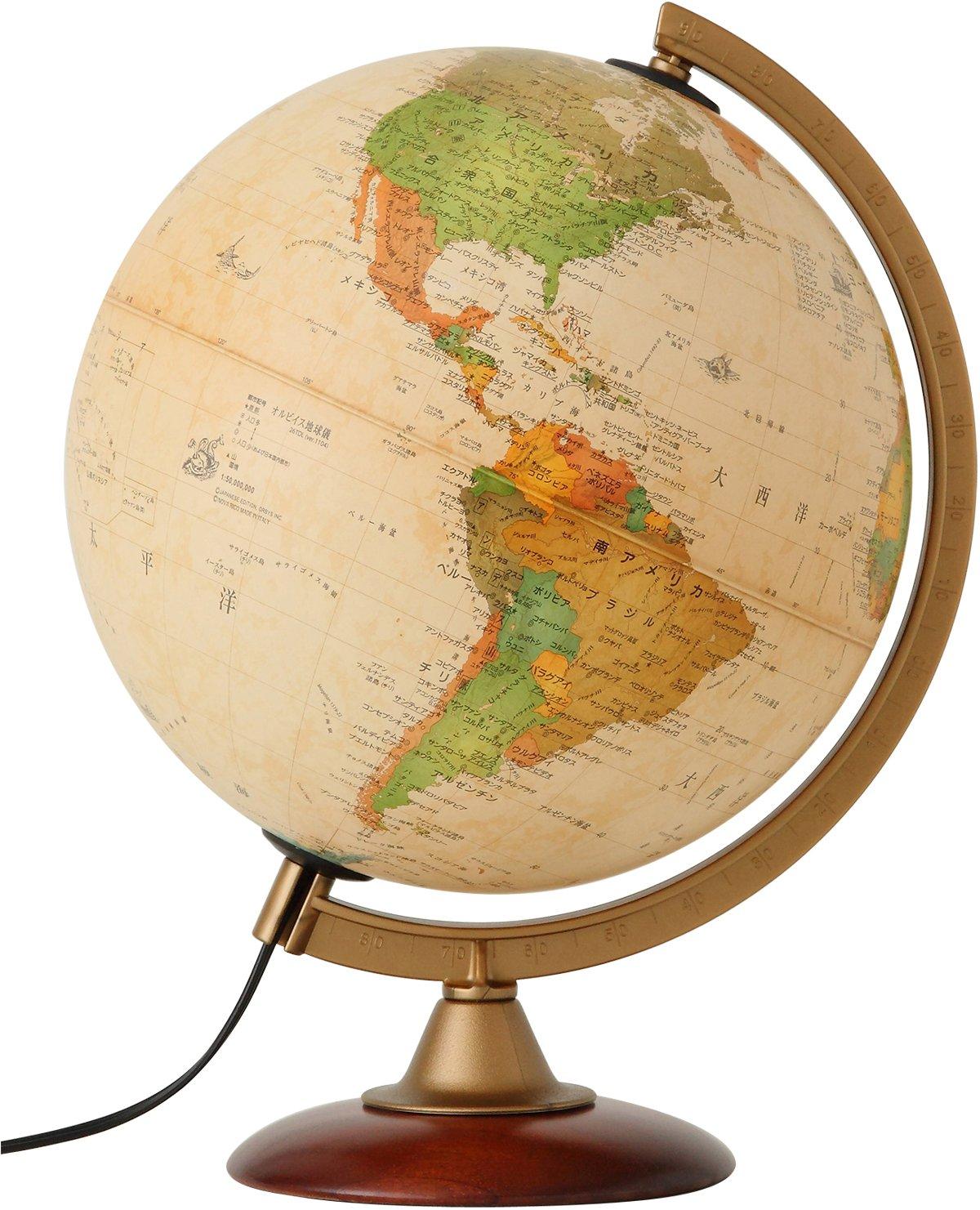 Amazon.co.jp: 地球儀 - 学校用教材: 文房具・オフィス ...