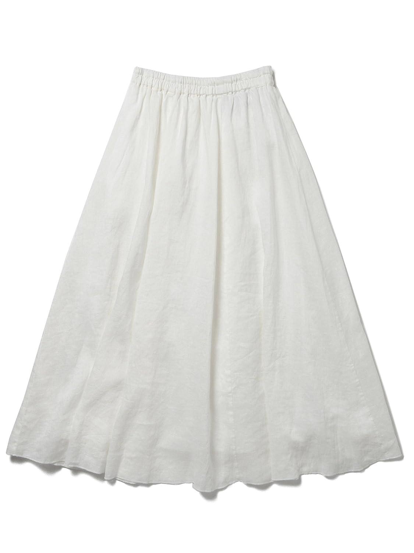 Amazon.co.jp: (レイビームス) Ray BEAMS / 麻 ギャザーフレアー マキシスカート: 服&ファッション小物