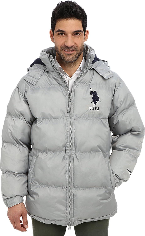 U.S. Polo Assn. Men's Signature Bubble Jacket with Polar Fleece Lining стилус polar pp001