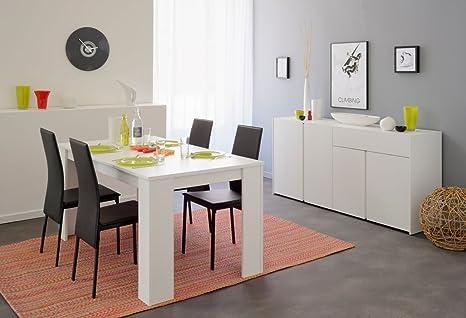 Essgruppe Tischgruppe weiß Karely