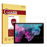 OMOTON Screen Protector Compatible with Surface Pro 6 / Surface Pro (5th Gen) / Surface Pro 4 - [Tempered Glass] [High Responsivity] [Scratch Resistant] [High Definition] (Color: Clear)
