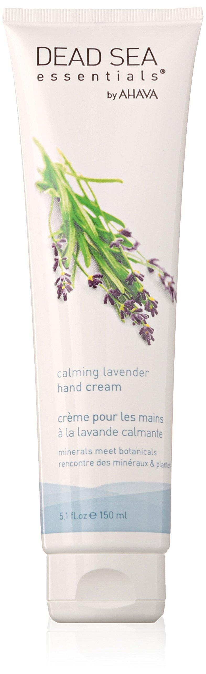 Dead Sea Essentials by AHAVA Calming Lavender Hand Cream, 5.1 oz