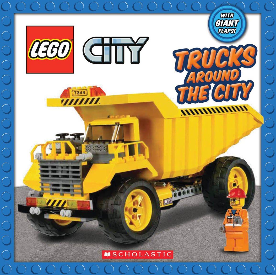 Lego City Books Lego City Trucks Around The