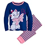 Disney Marie PJ Pals Pajama Set For Girls - The Aristocats Size 5