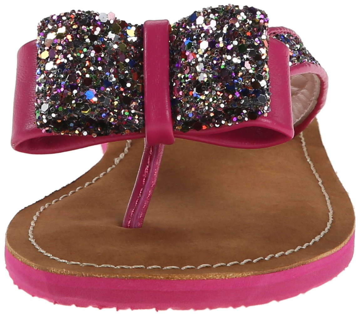 Glittered kate spade thong sandals