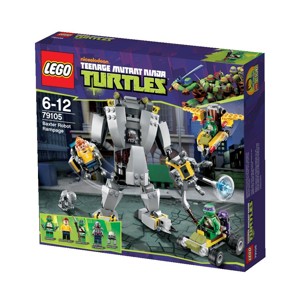 Lego Teenage Mutant Ninja Turtles 79105