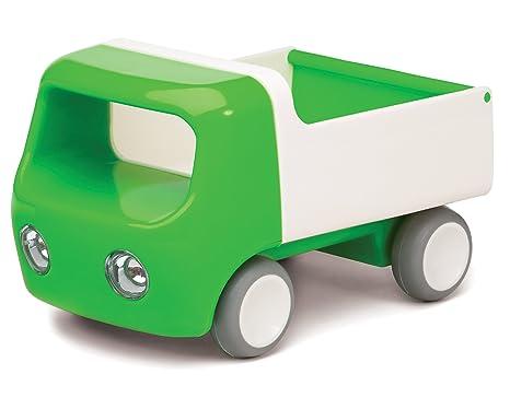 Kid O Camion avec Poignée et Roues en Caoutchouc - Vert - 17 x 10 x 10 cm