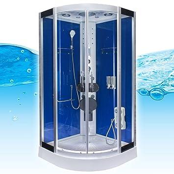 acquavapore dtp8058 0200 dusche duschtempel komplett. Black Bedroom Furniture Sets. Home Design Ideas