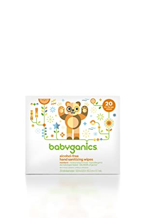 Отзывы BabyGanics Hand Sanitizing Wipes Indiviually Wrapped, 20 Count, Packaging May Vary
