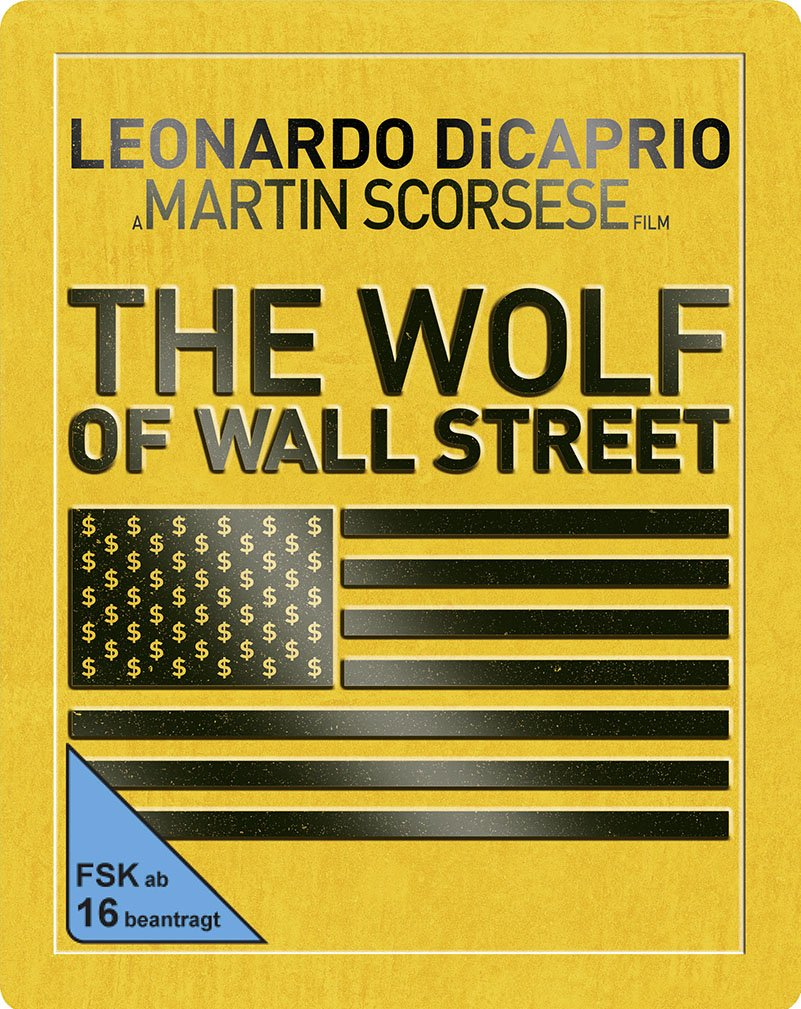 Vorbestellen - The Wolf of Wall Street - Steelbook [Blu-ray] [Limited Edition]