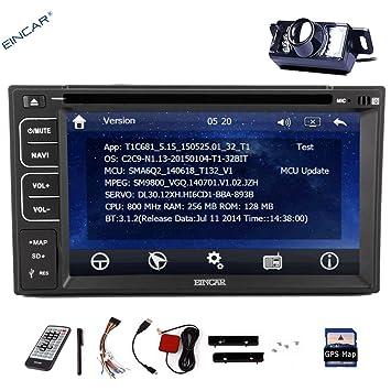 Pantalla tš¢ctil EinCar 6.2''Double 2DIN estšŠreo HD capacitiva de Vehšªculos pantalla tš¢ctil del coche DVD Reproductor de CD Incorporado GPS voiture Bluetooth StšŠršŠo St&scar