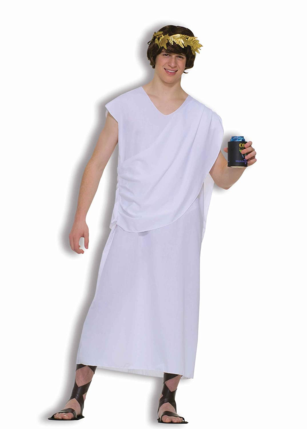 Forum Novelties Men's Teenz Unisex Costume Toga ютекс линолеум juteks forum vavilon 2035