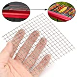 10x10cm Woven Wire 304 Stainless Steel Filtration Grill Sheet Filter 4 Mesh ZevenMart