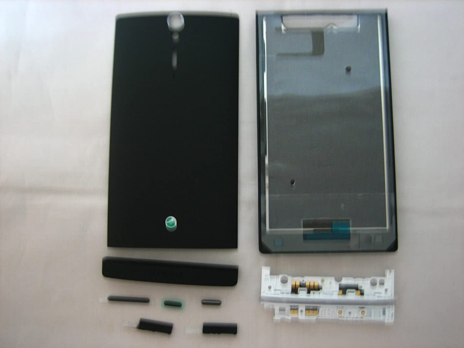 Sony-Xperia-S-LT26i-LT26-Black-Cover-Housing-Mobile-Phone-Repair-Part-Replacement