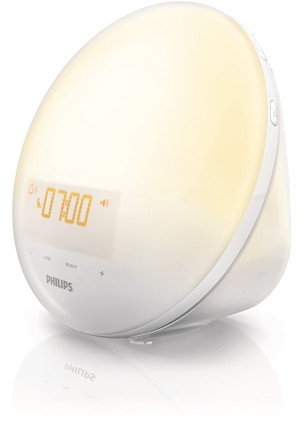 Philips HF3510 Wake-Up Light, White 	$59.99