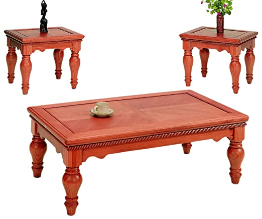Frenchi Home Furnishing 3-Piece Coffee Table Set