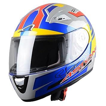 Astone Helmets GTOGK-AVUS-BYL Casque Intégral GTO Kid Avus Taille L