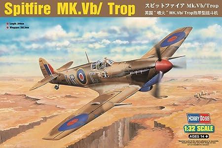 Hobbyboss 83206 Spitfire VB/Trop 1:32 Plastic Kit Maquette