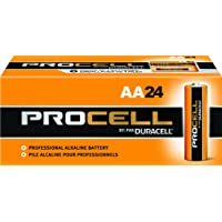 Duracell Procell PC1500 1.5V Alkaline-Manganese Dioxide AA Battery (24 Count)