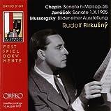 ショパン:ピアノ・ソナタ第3番ロ短調Op.58他