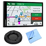 Garmin DriveSmart 61 NA LMT-S Advanced Navigation GPS w/Smart Features Mount Bundle (Color: Dash Mount Bundle)