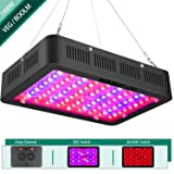 1000w LED Grow Light Connected in Series,Yehsence (15W LED) 3 Chips LED Plant Growing Lamp Full Spectrum with Adjustable Rope for Indoor Plants Veg and Flower/Replace Hps Grow Light Fixture (Tamaño: 1000W-Black)