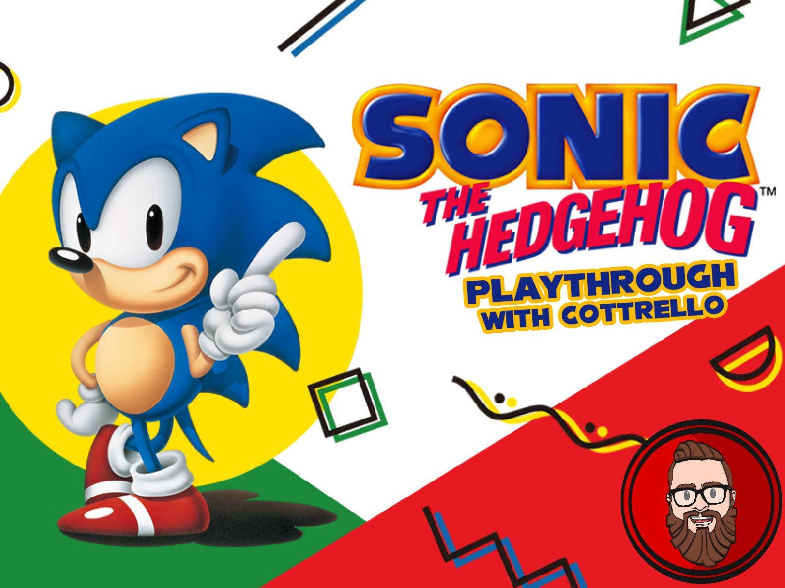 Watch Sonic The Hedgehog Playthrough With Cottrello On Amazon Prime Video Uk Newonamzprimeuk