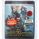 Pirates Of The Caribbean: Dead Men Tell No Tales (4K UHD + Blu-Ray) (Hong Kong Version / Chinese subtitled) ?????: ????