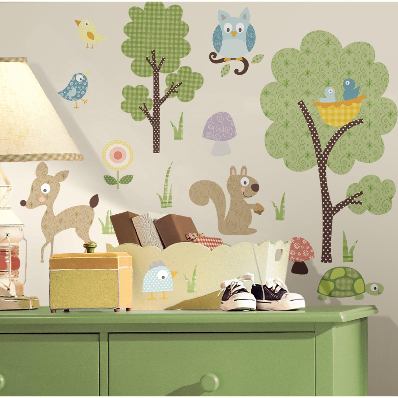 Wandsticker Kinderzimmer Tiere - schnell und schön das Zimmer dekorieren