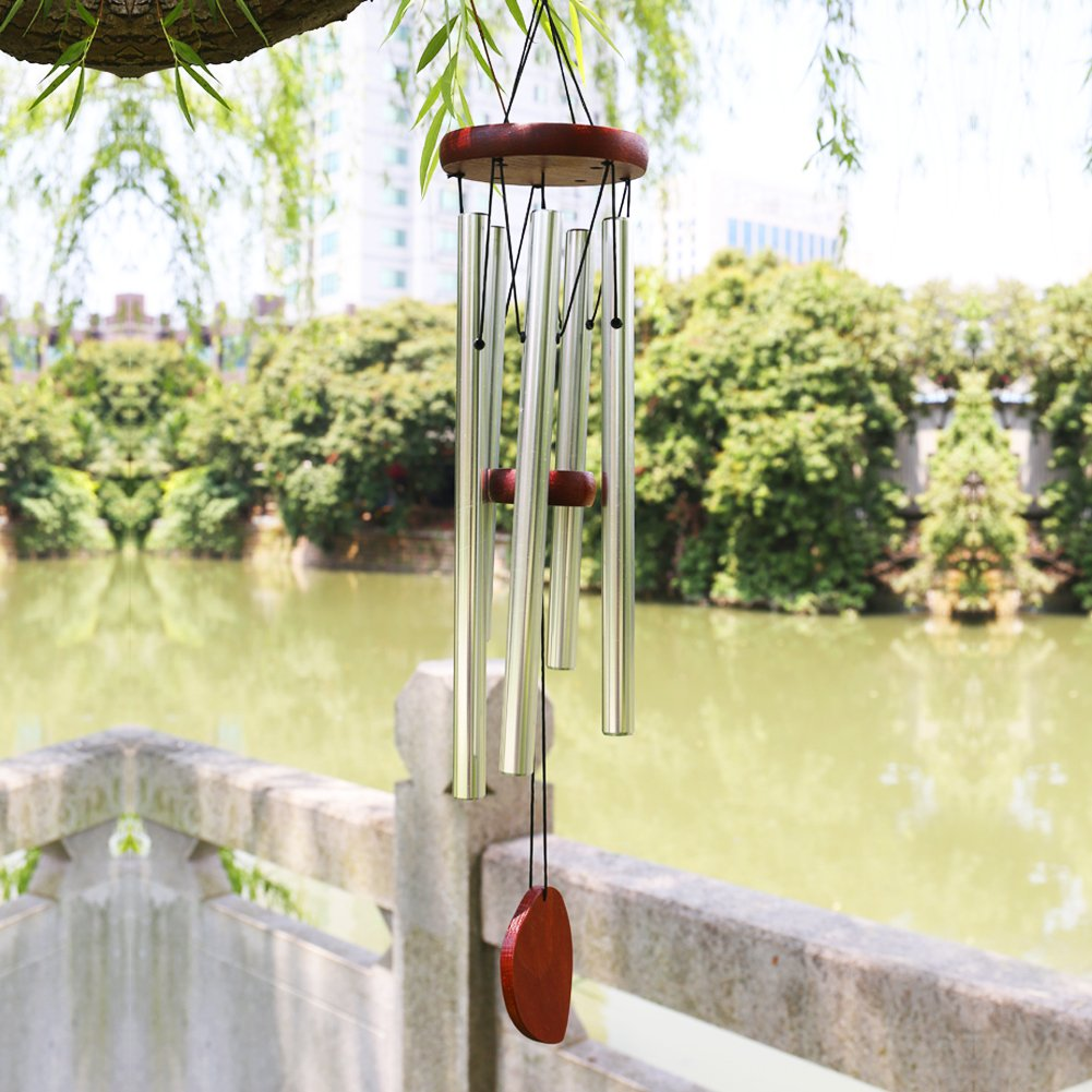 "Premium Wind Chimes Outdoor, 22"" Amazing Grace Wind Chimes Punada for Outdoor Indoor Patio Garden Balcony, Beautiful Outdoor Decor (Larger Tube-Amazing Tune)"