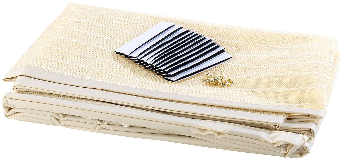 haust ren sicherung infactory selbstschlie endes premium fliegennetz was besseres gibts nicht. Black Bedroom Furniture Sets. Home Design Ideas