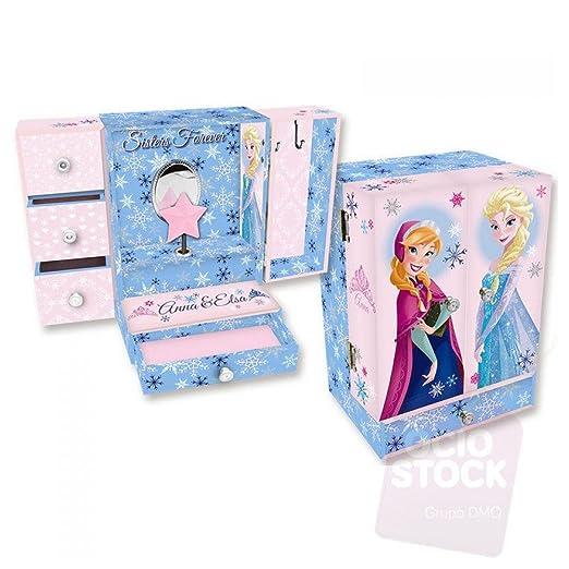 Kids Licensing - Wd16234 - Grande Boîte à musique armoire en Bois - Frozen - Sisters Forever
