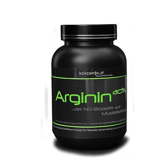 KörperKult Arginin active , NO-Booster - 300 Kapseln