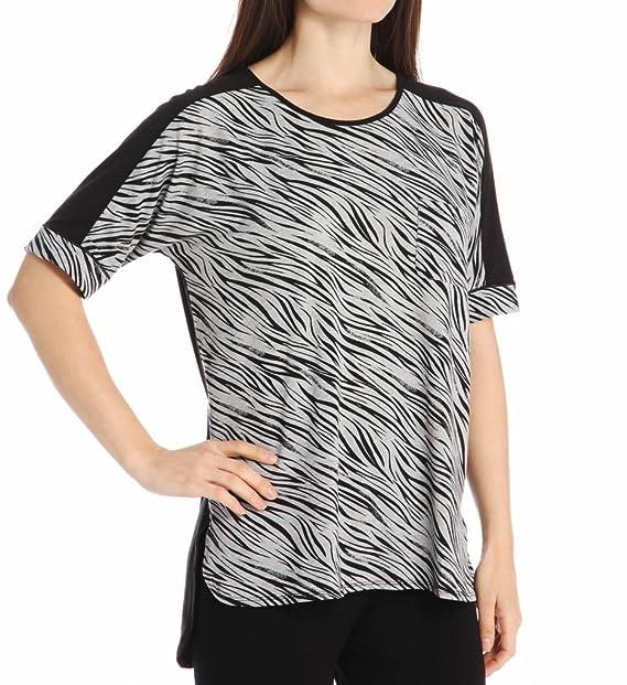 Anne Klein Smart Chic Dri Release Short Sleeve Top