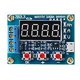 ZB2L3 Li-ion Lithium Lead-acid Battery Capacity Gauge Discharge Tester Analyzer LCD Digital Monitor