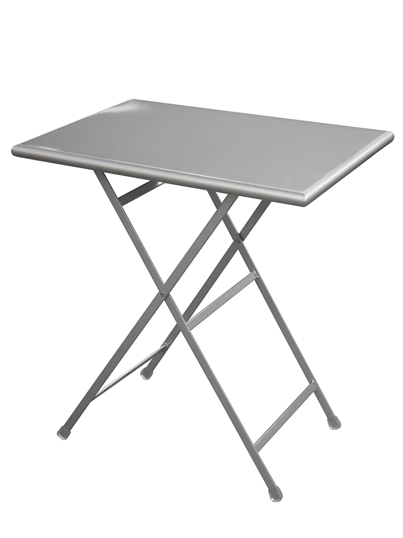 Emu 303312000 Arc En Ciel Klapptisch 331, 110 x 70 cm, pulverbeschichteter Stahl, aluminiumfarben günstig