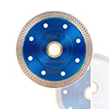 Peakit Tile Cutter Blade 4in Porcelain Diamond Saw Blade Ceramic Cutting Disc Wheel for Angle grinder, Reversible Color (Color: 4