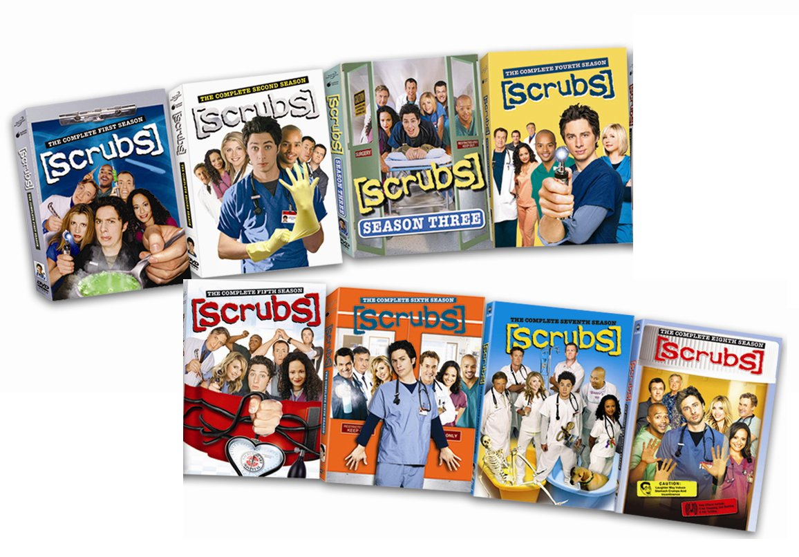 Amazon Scrubs Dvd