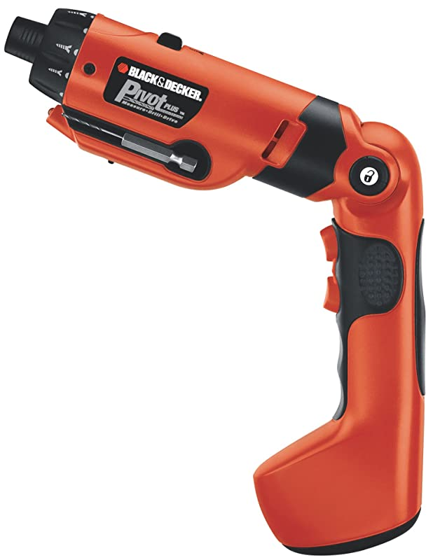 Black & Decker PD600 Pivot Plus 6-Volt Nicad Cordless Screwdriver with Articulating Head via Amazon