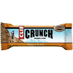 10-Pack Clif Crunch Granola Bars Peanut Butter 1.48 oz.