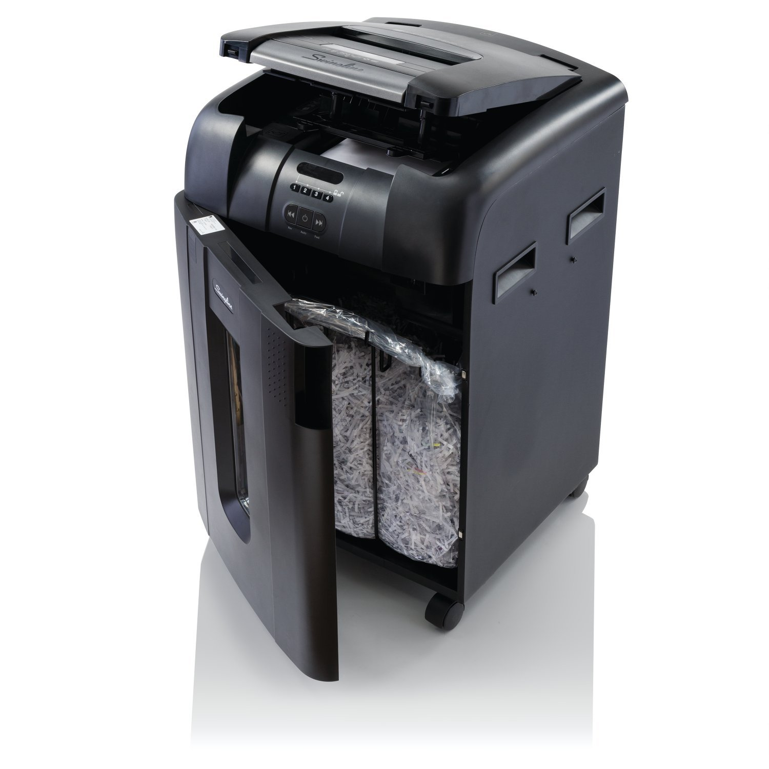 Swingline Stack and Shred 500X Hands Free Shredder