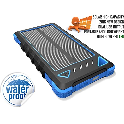 OCTOPUS High Capacity Waterproof Portable 8000mAh