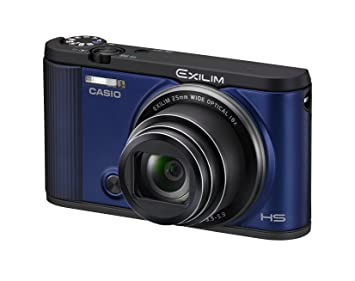 CASIO digital camera EXILIM EX-ZR1600BE SELF PORTRAIT tilt LCD front shutter Wi-Fi / Bluetooth equipped with Blue