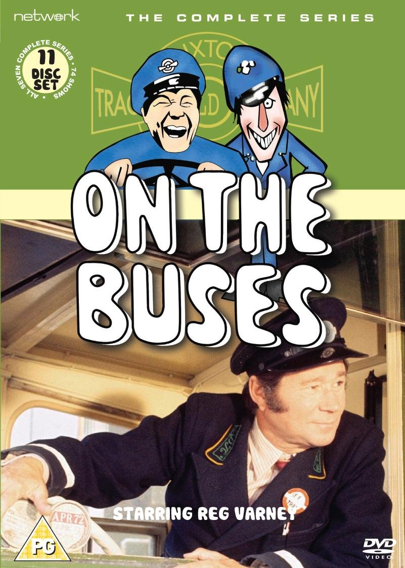 DVD-TV-Series-On-The-Buses-Complete-Series-R2-PAL