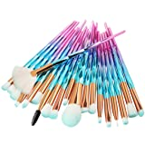 Eyeshadow Brushes,Makeup Brushes Set Professional,Posional 2018 | Professional Makeup Brush Set | Cosmetic Make Up Brushes | Foundation Brushes |Face Makeup Brushes|Concealer (Gradient Blue) (Color: Gradient Blue, Tamaño: 1.3*19.2 cm)