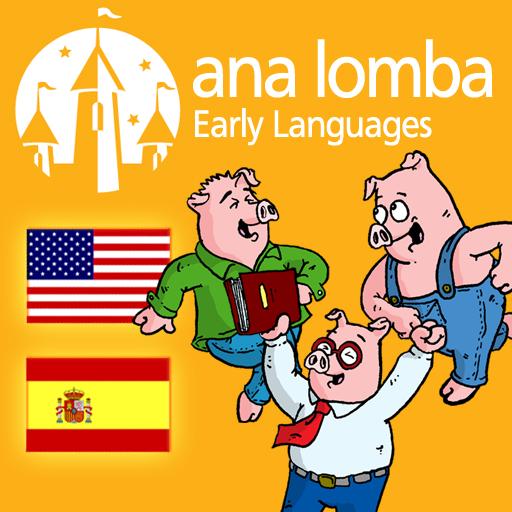 Amazon.com: Ana Lomba - Three Little Pigs (Bilingual Spanish-English