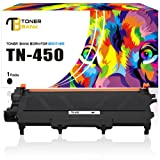 Toner Bank Compatible for Brother TN420 TN450 TN-450 Toner Cartridge for Brother HL-2280dw HL-2270dw MFC 7860DW MFC-7860DW MFC 7360n MFC-7360n HL-2240 HL2230 DCP-7065dn Brother Intellifax 2840 Printer (Color: Black)